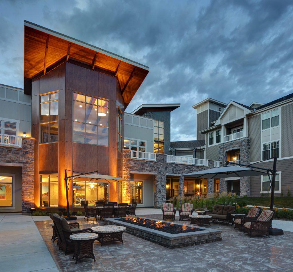 Senior Citizen Apartments: Building Design Knocks Down Walls In Senior Living
