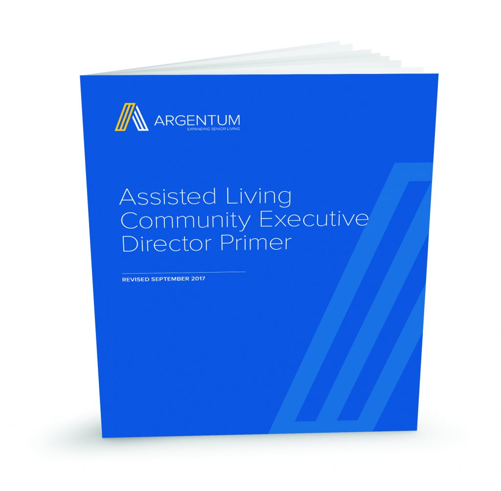 Assisted Living Executive Director Certification Program Argentum