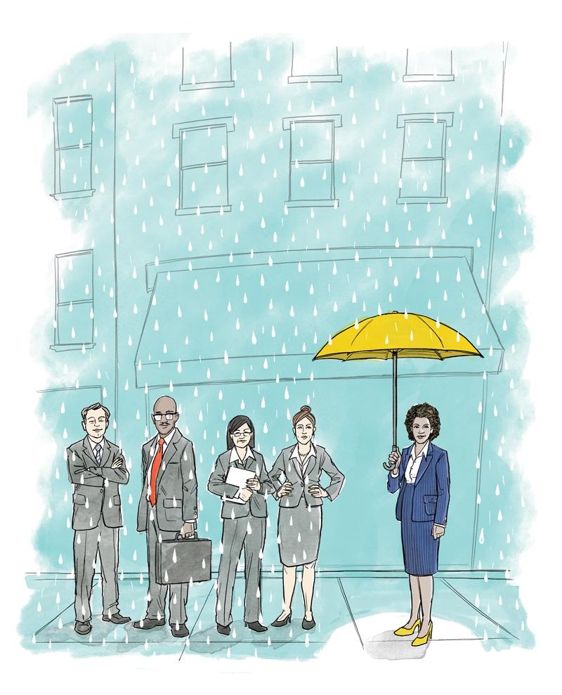 Employees illustration