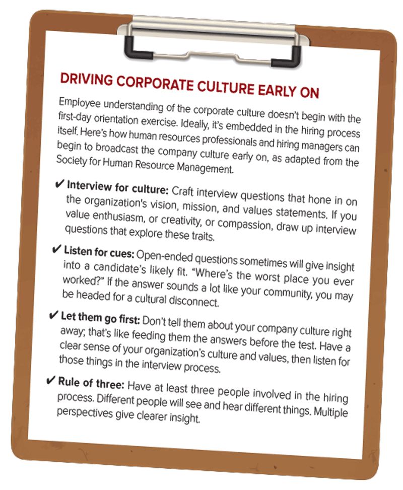Tips for driving corporate culture
