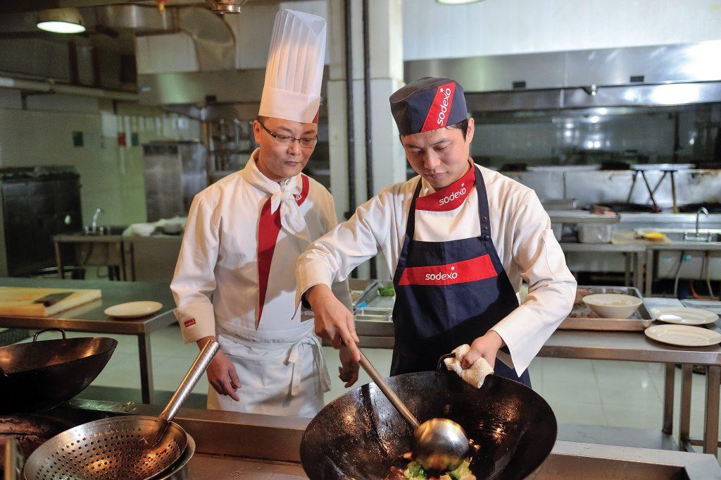 Sodexo wok stations