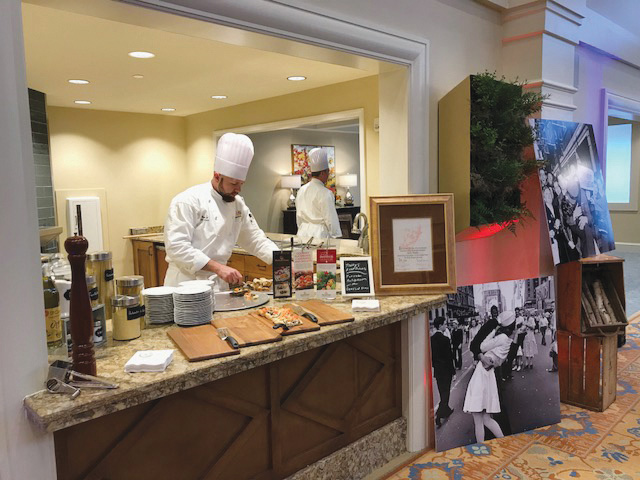 Exhibition kitchen at Harbor Retirement Associates