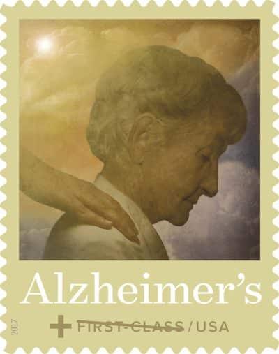 Alzheimer's postage stamp