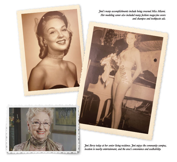 collage of Jenny Freeland Berry